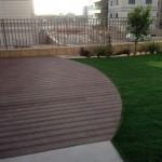 דק בשילוב דשא סינטטי
