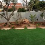 דשא סינטטי לגינה