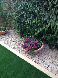 מרכז הדשא - תכנון ועיצוב נוף